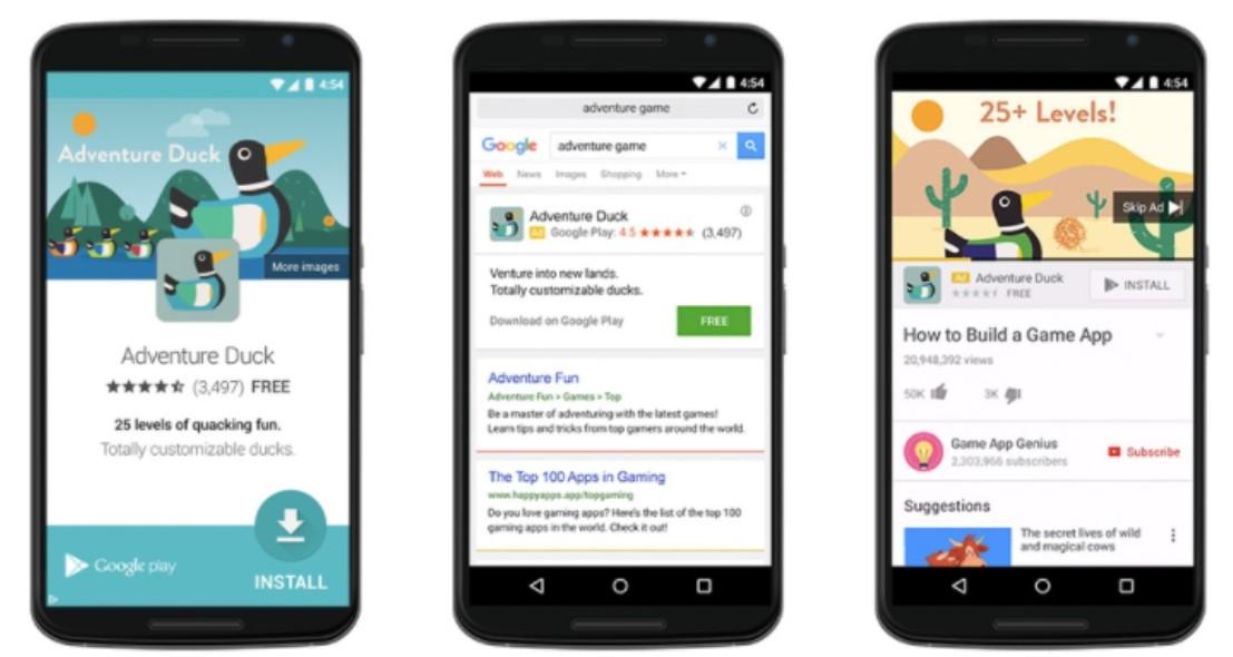 реклама гугл в приложениях